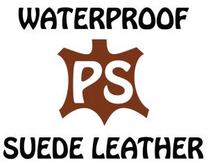 waterproof suede leader